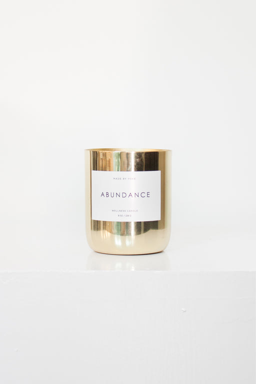 Made by Yoke | Abundance Candle | Wellness Collection | Hazel & Rose