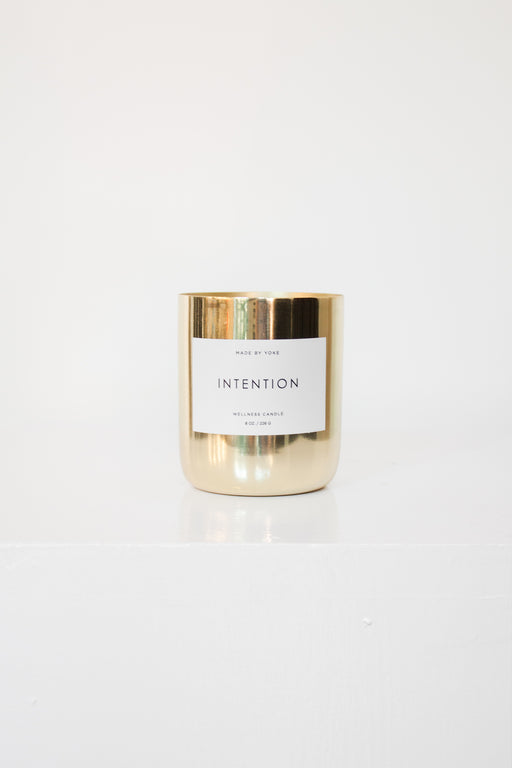 Made by Yoke | Intention Candle | Wellness Collection | Hazel & Rose