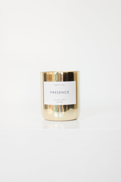 Made by Yoke | Presence Candle | Wellness Collection | Hazel & Rose