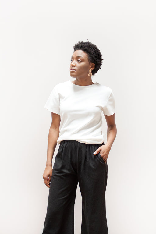 By Signe Organic Fashion | Unisex Tee White | Hazel & Rose