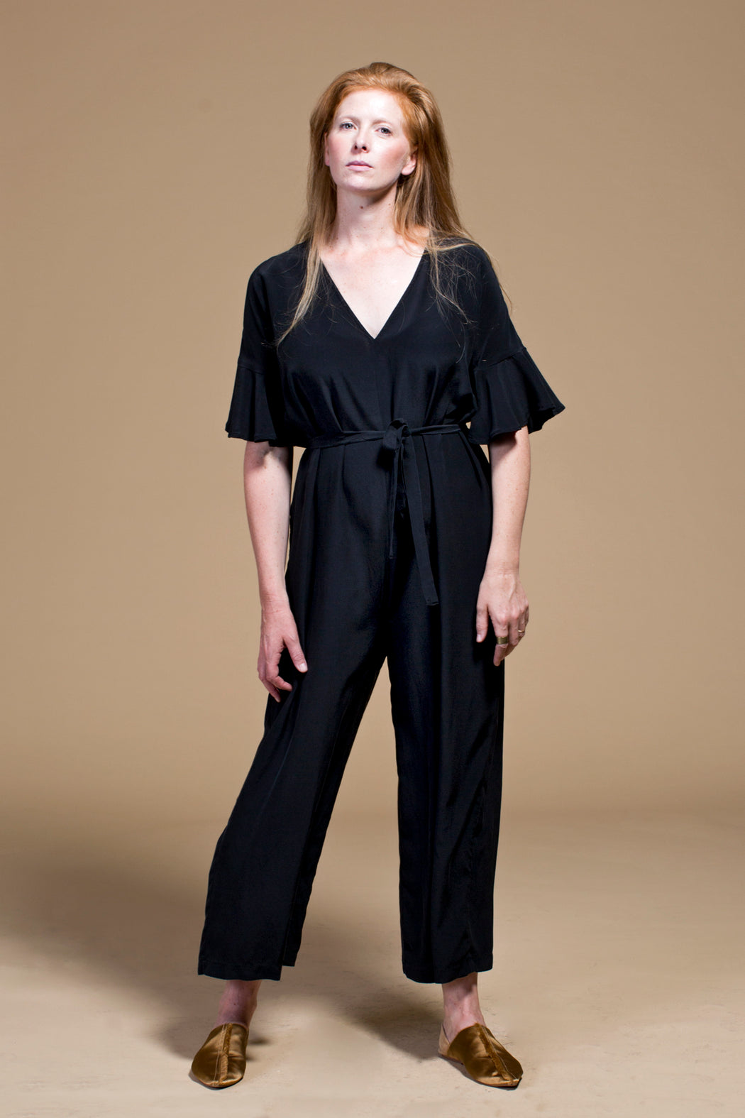 Winsome Goods | Washed Silk Dolores Jumpsuit | Hazel & Rose