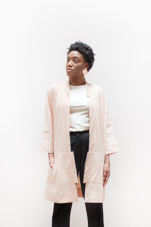 Wray Fair Trade Fashion | Port Jacket Clay Pink | Hazel & Rose