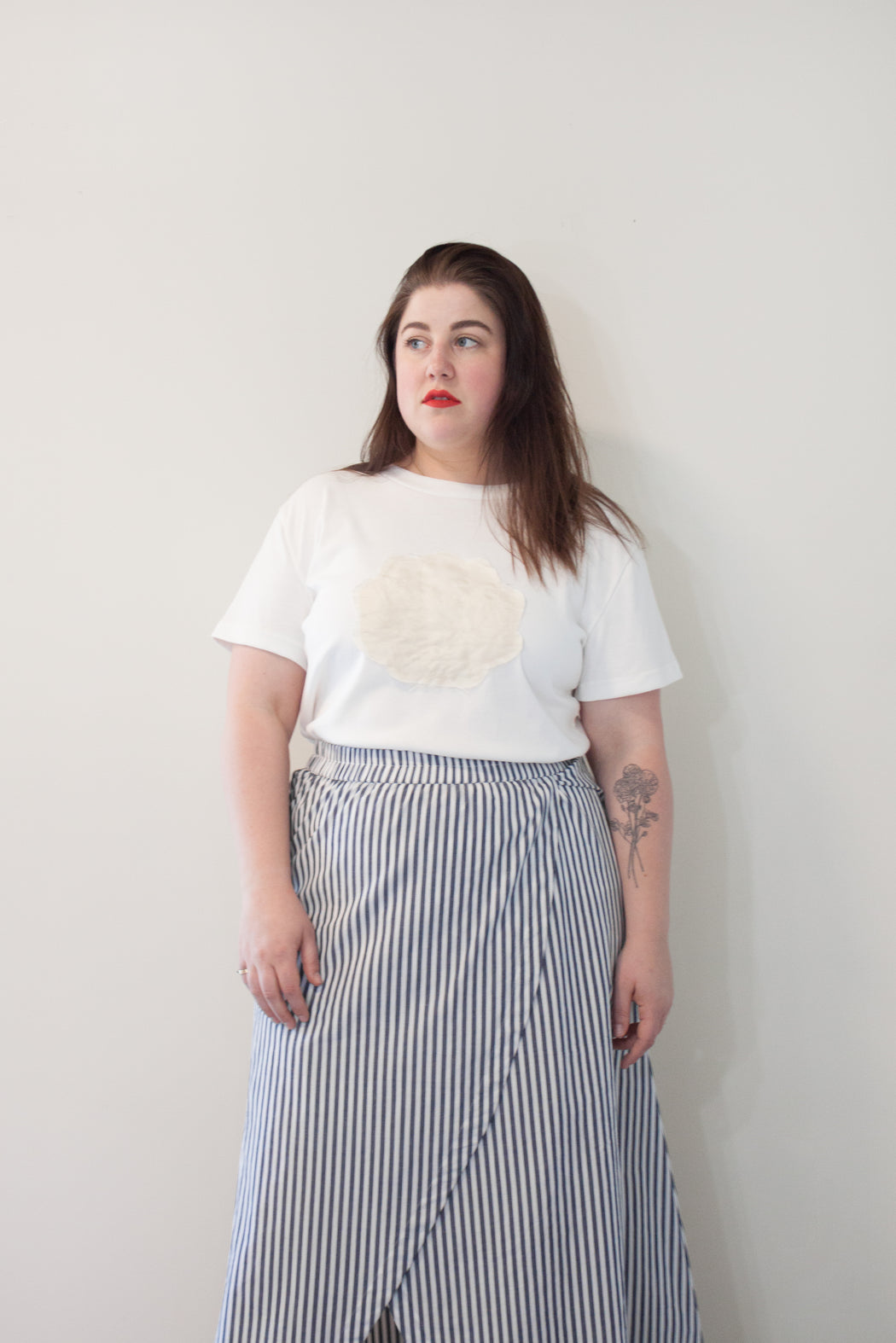 Signe Ethical Fashion | Seashell Tee Organic Cotton | Hazel & Rose