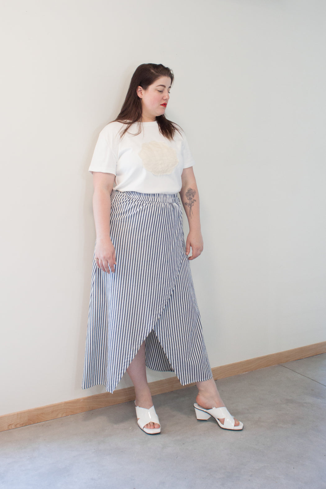 Plus Size Layer Skirt