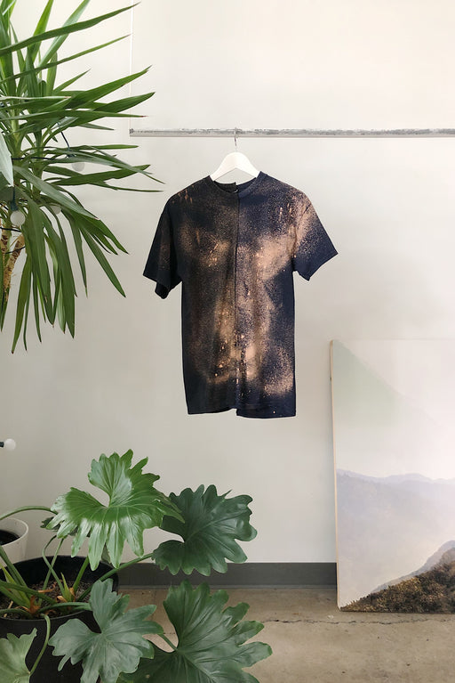 RE-WORKED 2-TONE DYE TEE | No. 5