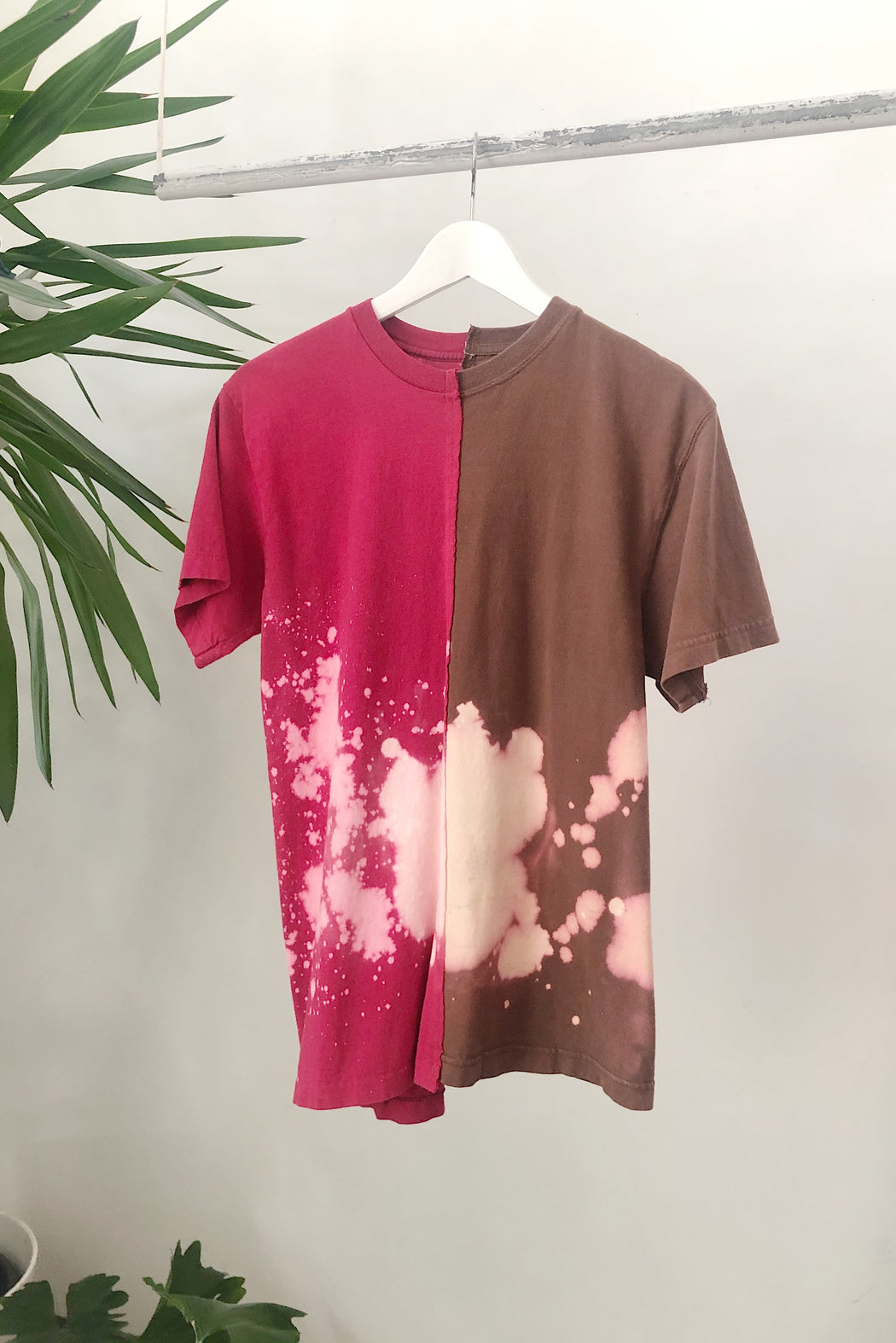 RE-WORKED 2-TONE DYE TEE | No. 2