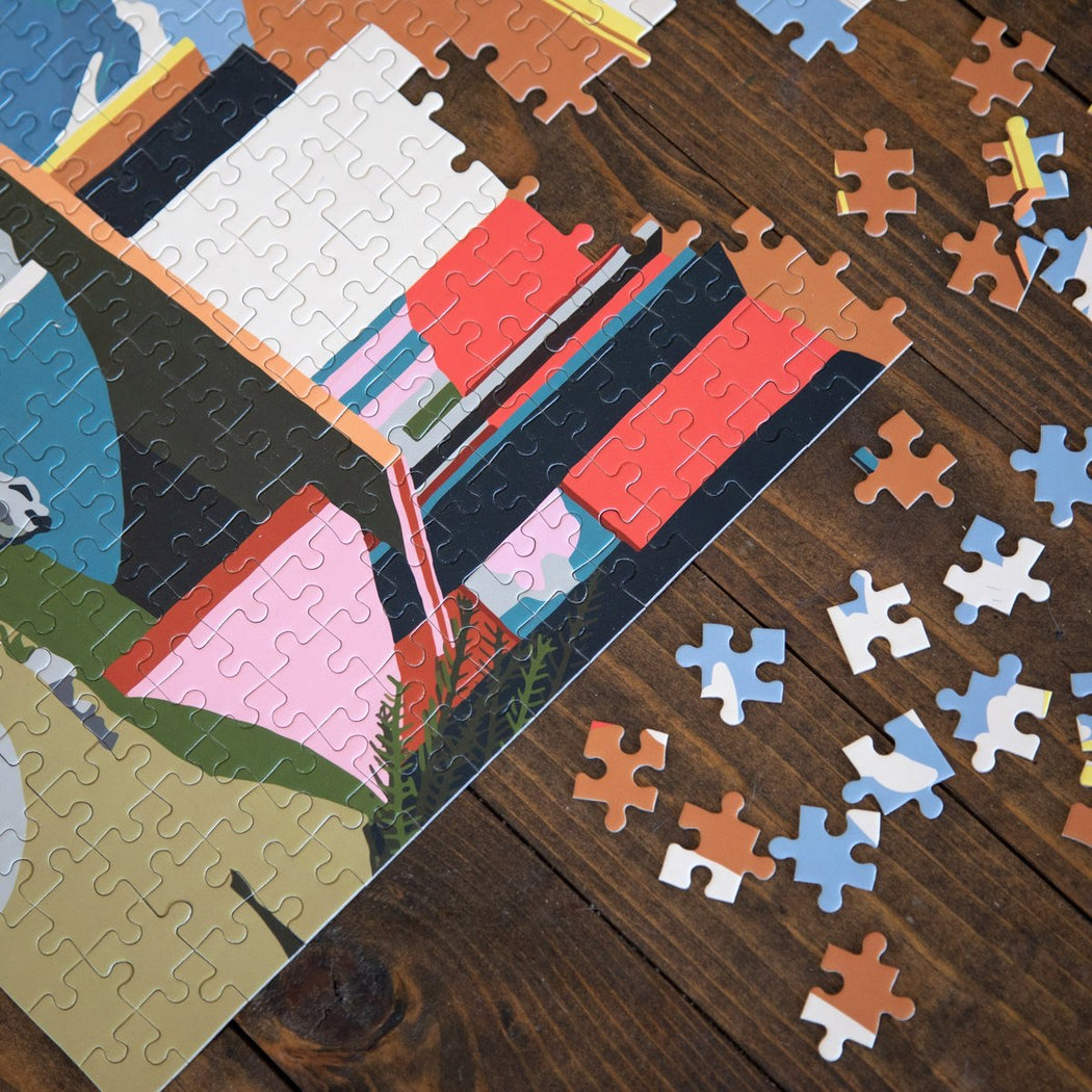 Slowdown Studio | Yoro Park Puzzle | Hazel & Rose | Minneapolis