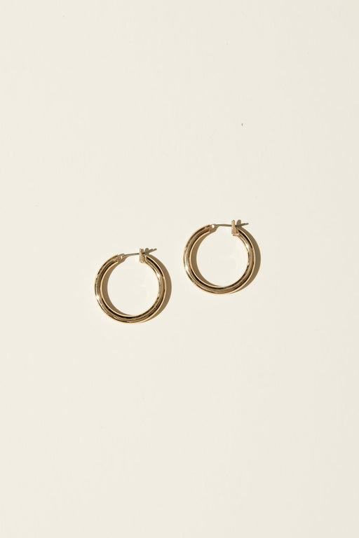 Small Latch Hoop Earrings