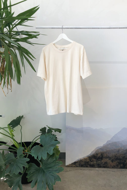 Easy Big Tee | Natural