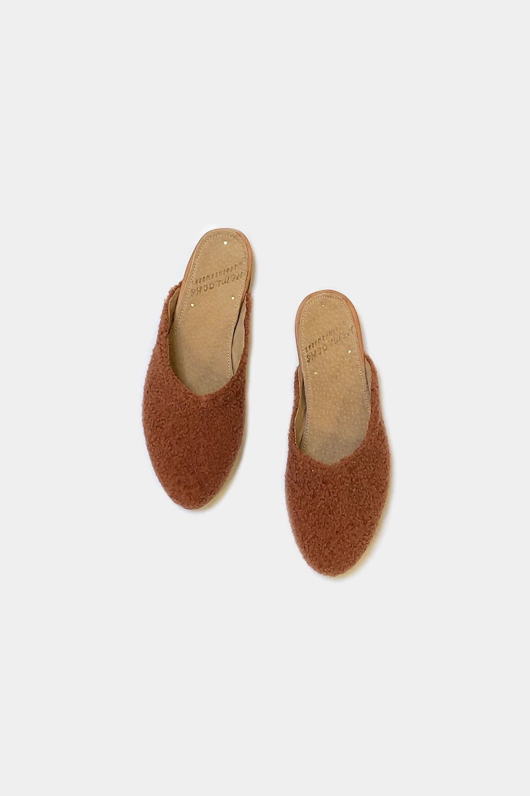 Shearling Slide | Spiced Orange