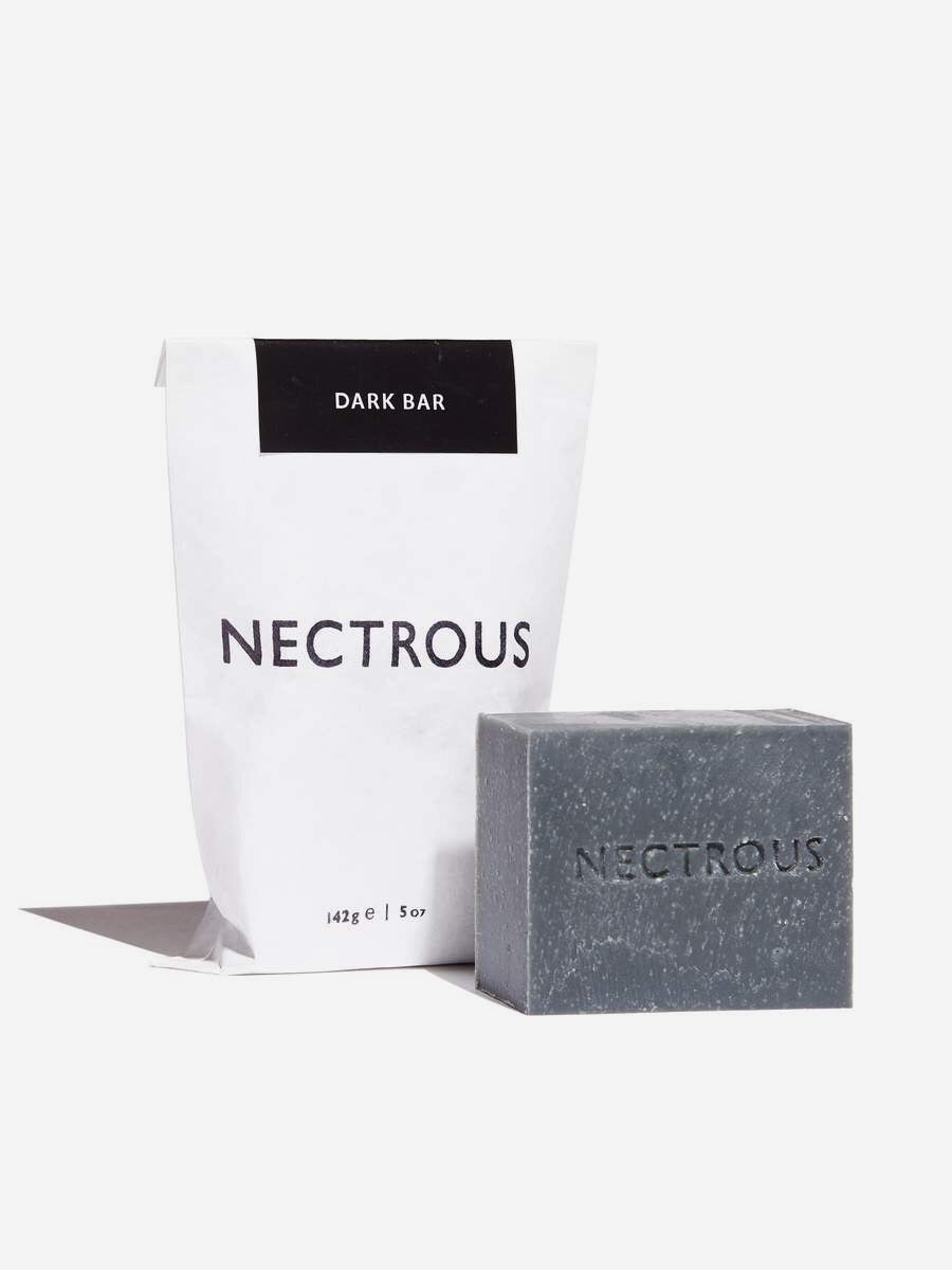 Nectrous | Dark Bar | Charcoal Cleansing Bar | Hazel & Rose | Minneapolis