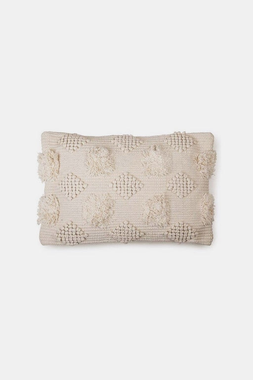 Diagonal Chindi Pillow