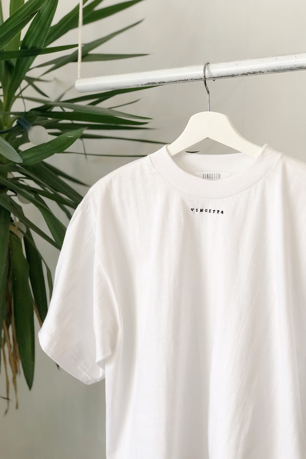 The Vincetta Tee | Hand Embroidered