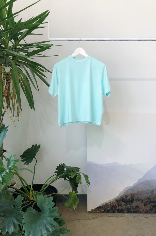 Mock Box Top | Seafoam Deadstock