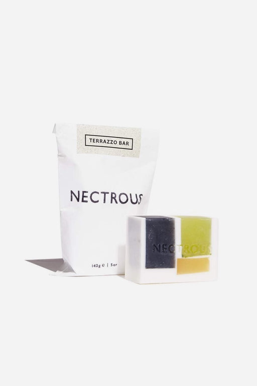 Nectrous | Terrazzo Bar | Facial Cleansing Bar | Hazel & Rose | Minneapolis