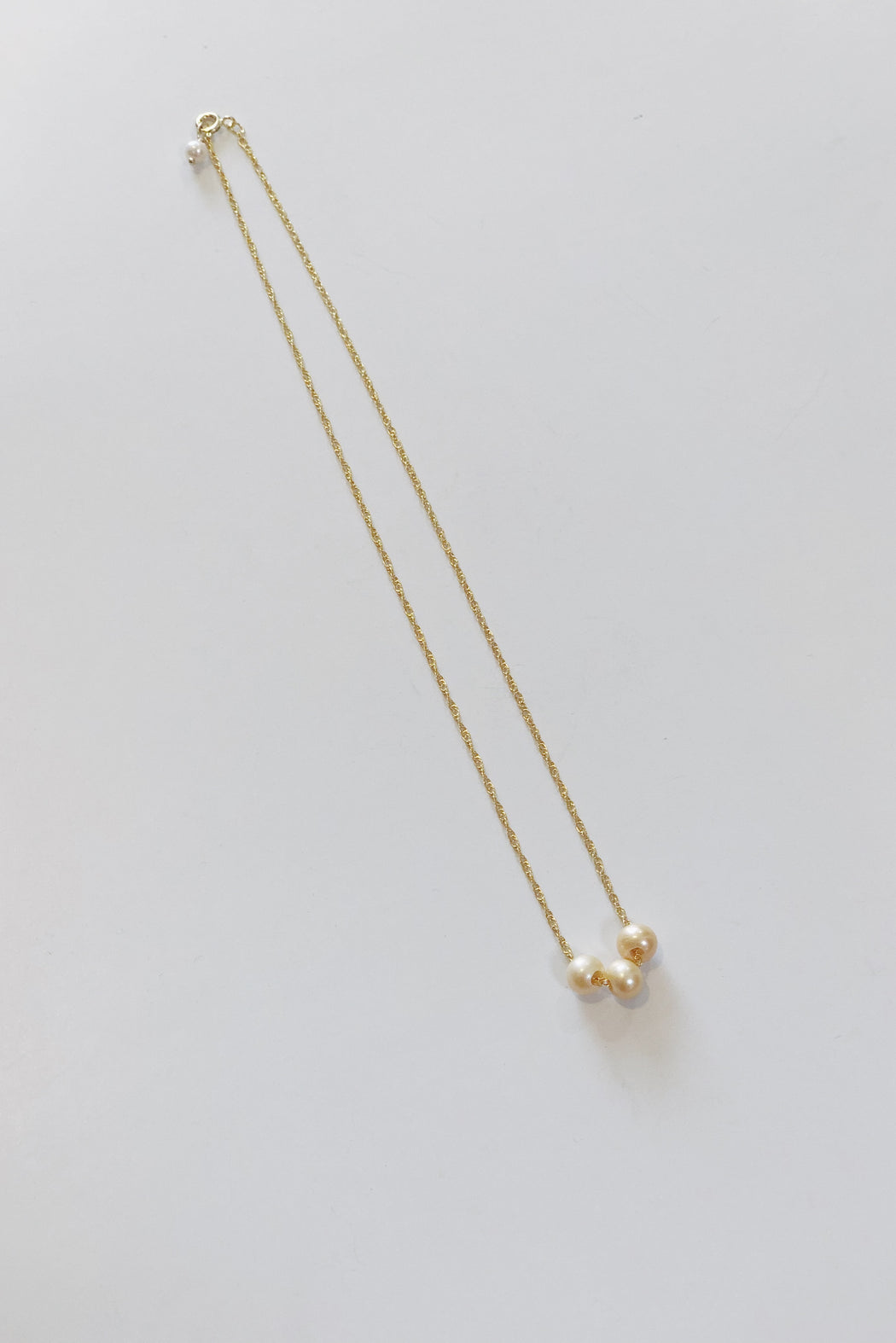 "Fresh Water Pearl 18"" Trio Necklace 