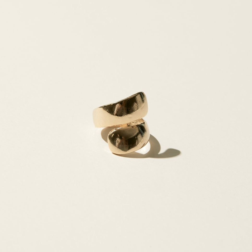 Maslo Jewelry | Wrap Ring | Hazel & Rose | Minneapolis