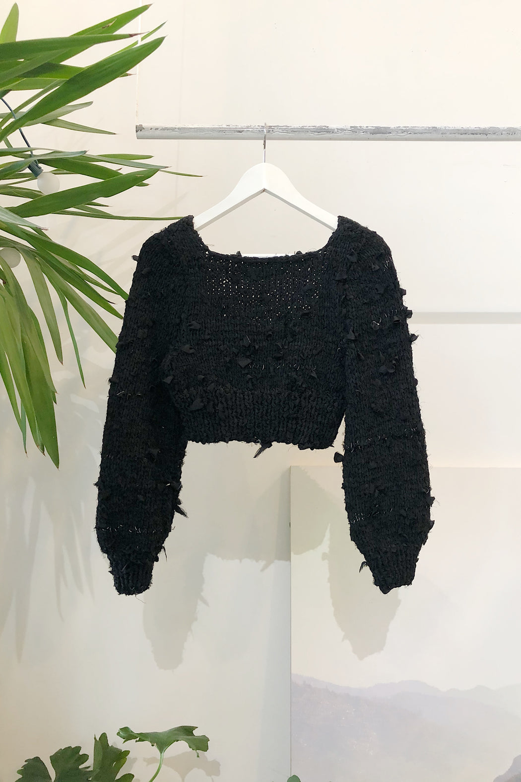 The Edna Sweater  | Zero Waste Silk Scrap
