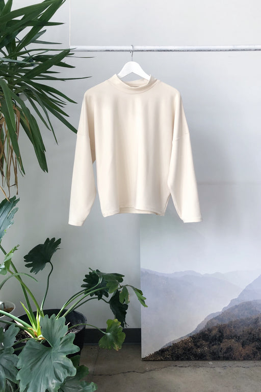 Architextural Sweatshirt | Cream