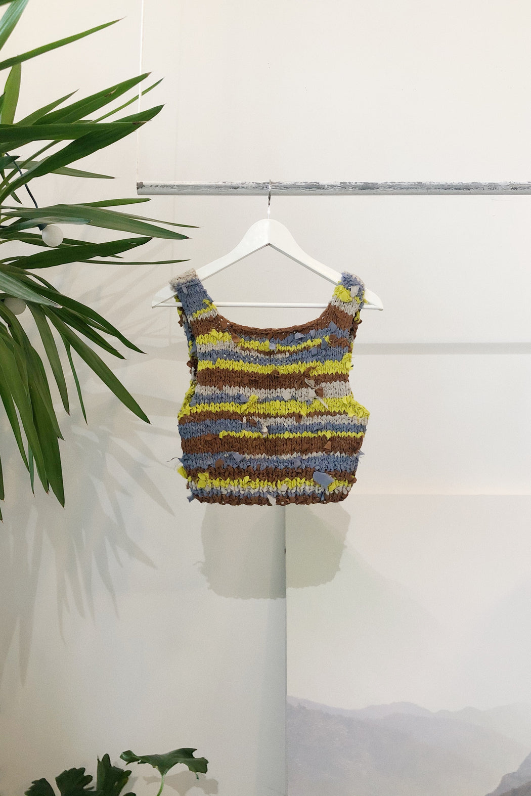 The Edna Sweater Tank  | Zero Waste Silk Scrap