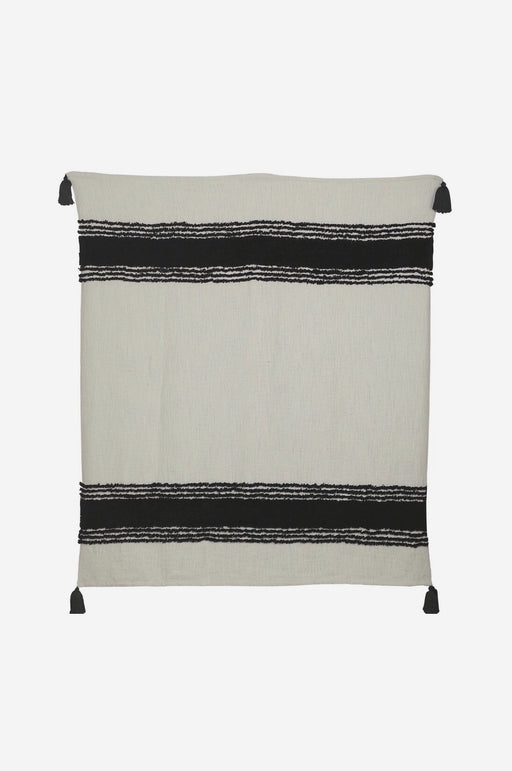 Tufted Slub Throw