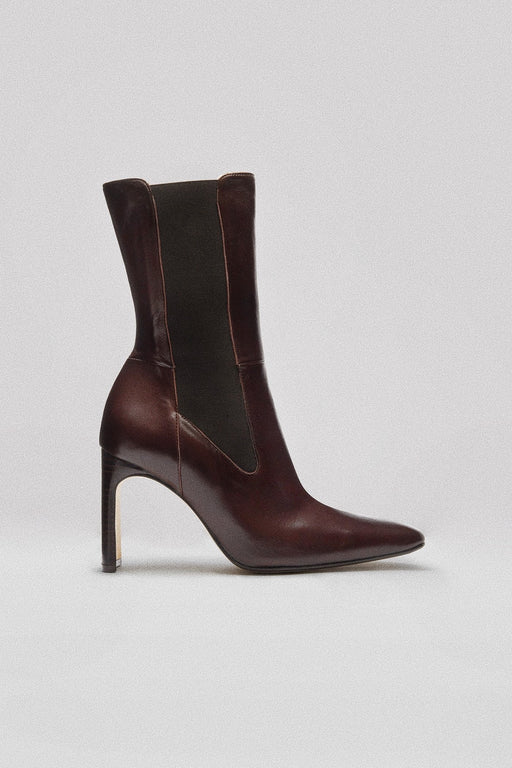JEANNE BOOT | DARK BROWN NAPPA