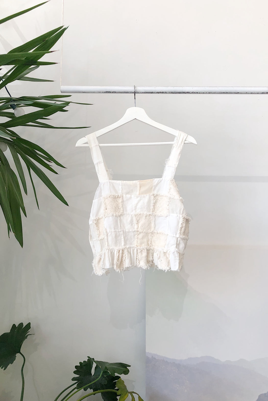 The Greta Tank | Zero Waste Ivory Multi