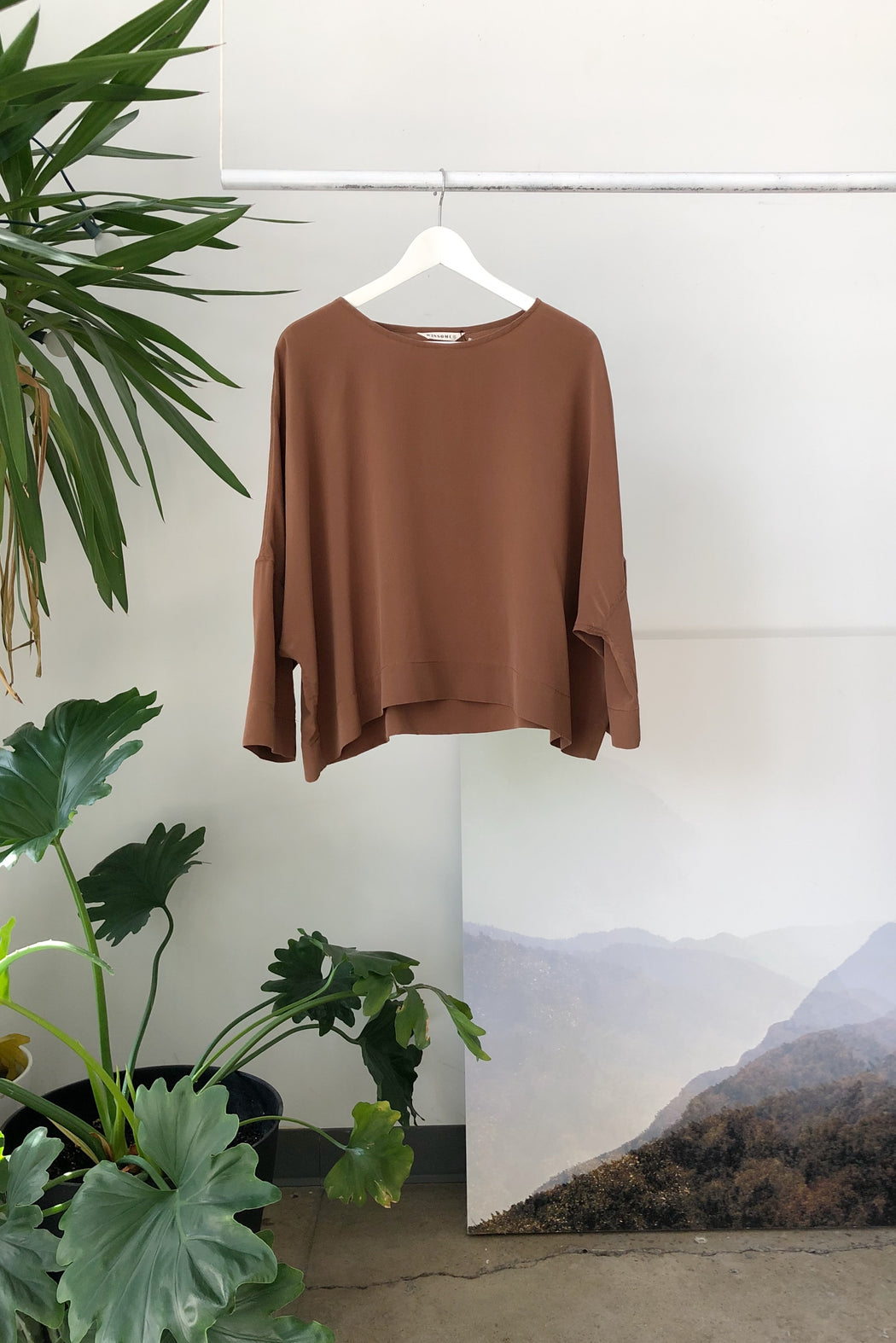 Hellen Top | Coffee Silk