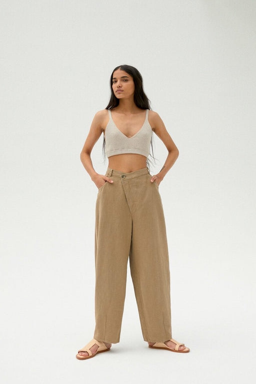 Mónica Cordera | CROSSED RAMIE PANTS | ELMWOOD | Hazel & Rose | Minneapolis