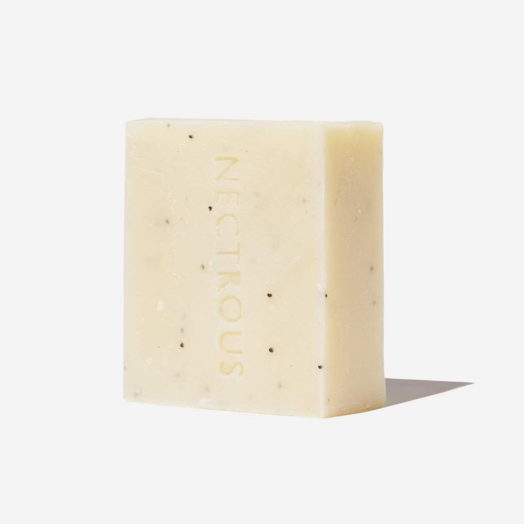 Nectrous | Hard Bar | Exfoliating Body Bar | Hazel & Rose | Minneapolis