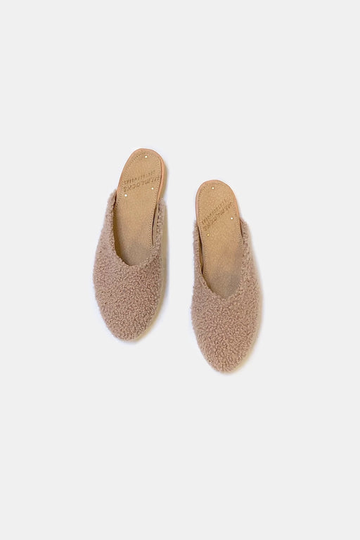Shearling Slide | Blush