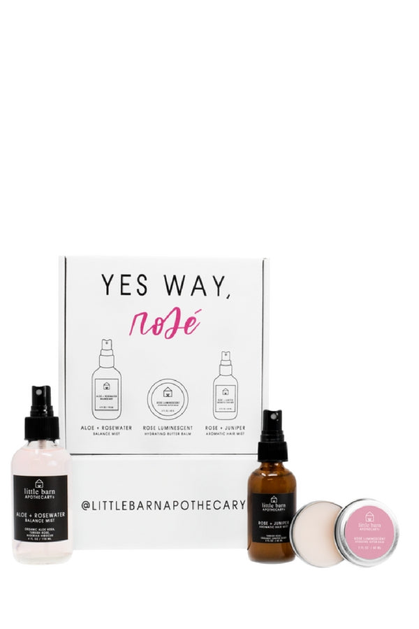 Little Barn Apothecary | Yes Way, Rose Gift Set | Minneapolis
