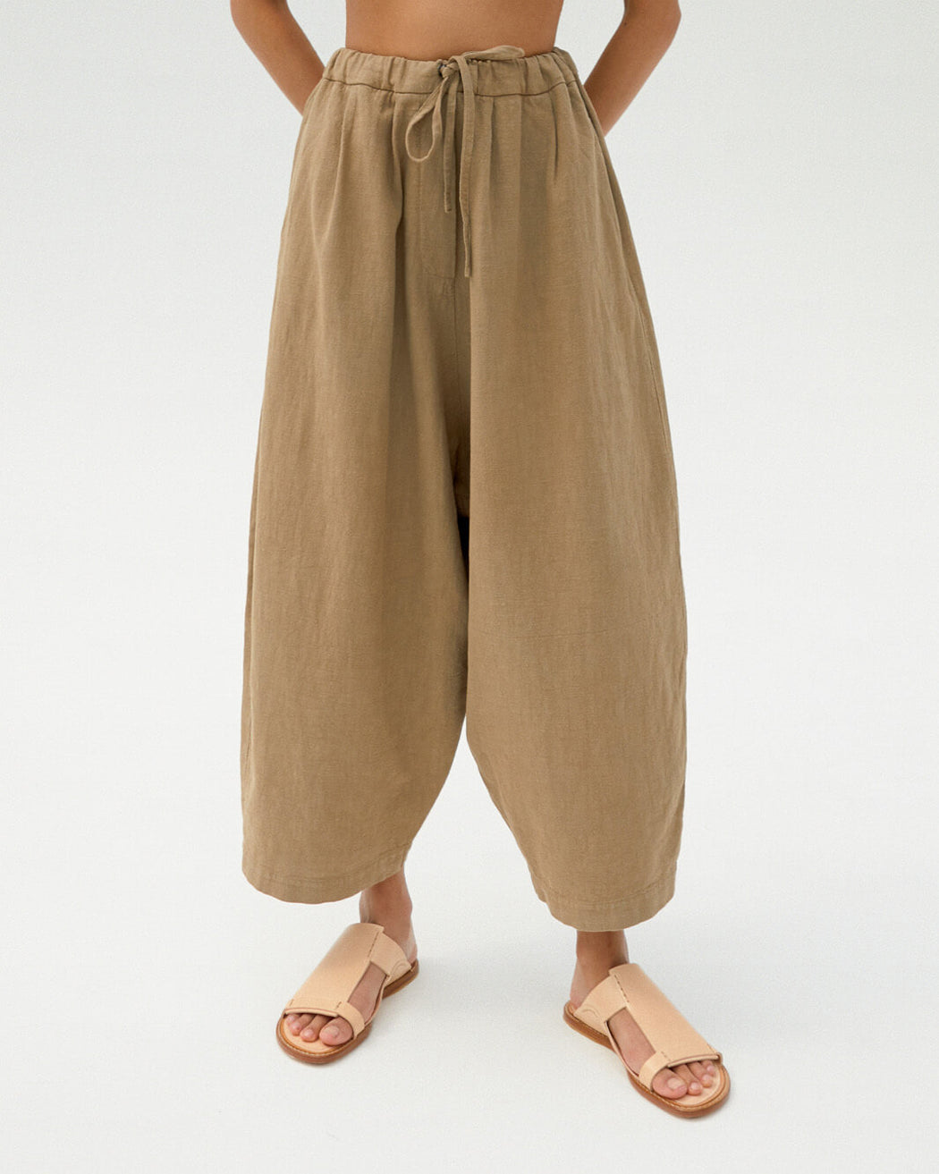 MAXI RAMIE PANTS | ELMWOOD