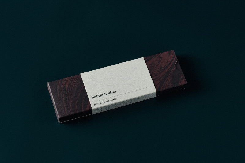 Subtle Bodies | Korean Red Cedar Incense | Hazel & Rose | Minneapolis