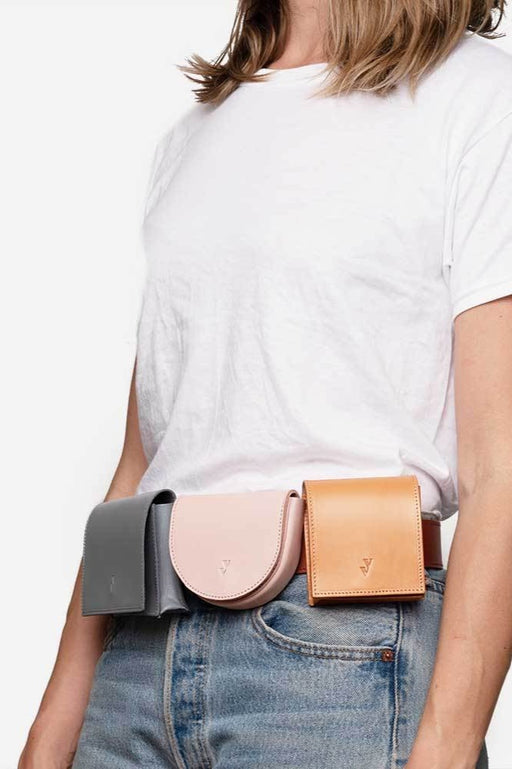 Vere Verto Leather Goods | Deco Belt Bag SS19 | Hazel & Rose