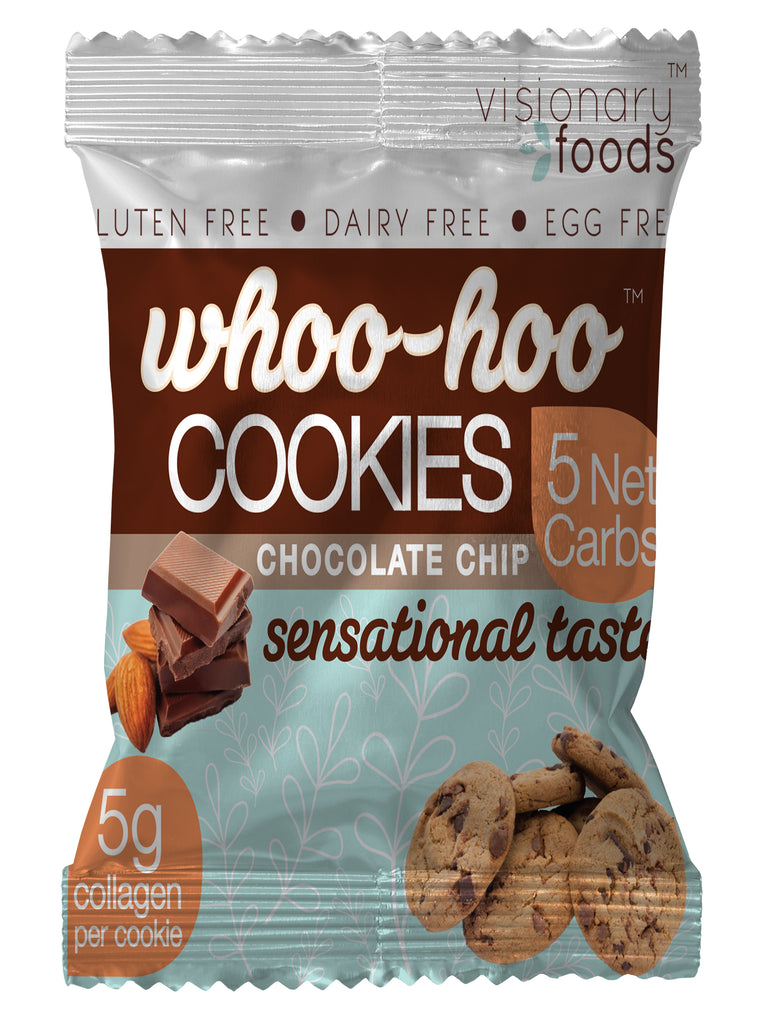Whoo Hoo Collagen cookie -- chocolate chip - dozen