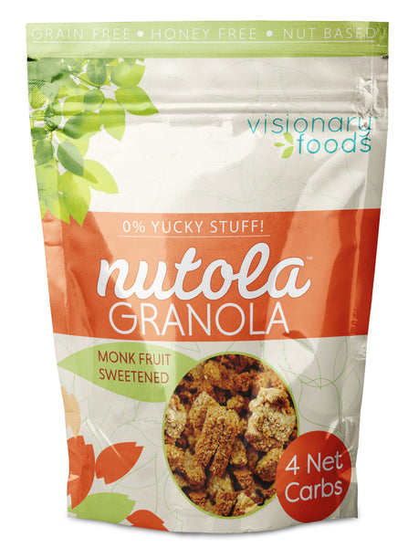 Nutola -- Monk Fruit sweetened 9oz