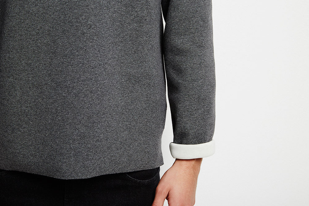 Our Legacy Raw Edge Sweat D. Grey Crewnecks Our Legacy - hoohastore.com