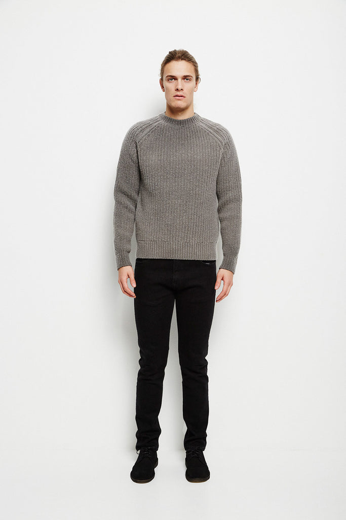 Our Legacy Roundneck Cloud Grey Knitwear Our Legacy - hoohastore.com