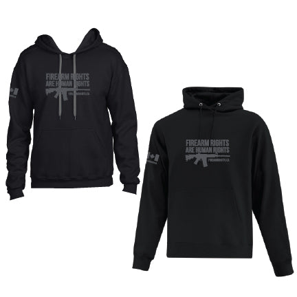 Black CCFR Human Rights Hoodie