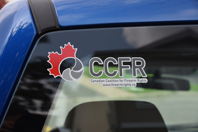 Classic CCFR Logo Decal