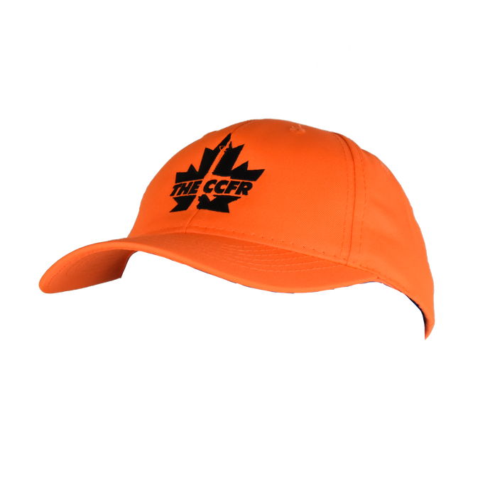 Bold CCFR Blaze Orange Hunting Cap