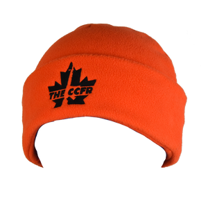 Bold CCFR Fleece Blaze Orange Hunting Toque