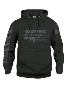 Black CCFR Human Rights Hoodie 2.0