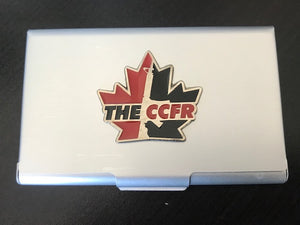 CCFR Business Card Holder