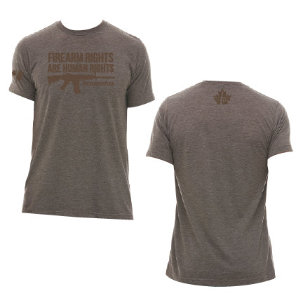 CCFR Human Rights Support T-Shirt - Coyote Brown