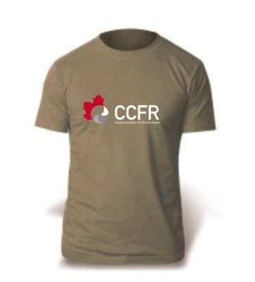 CCFR t-shirt in Prairie dust