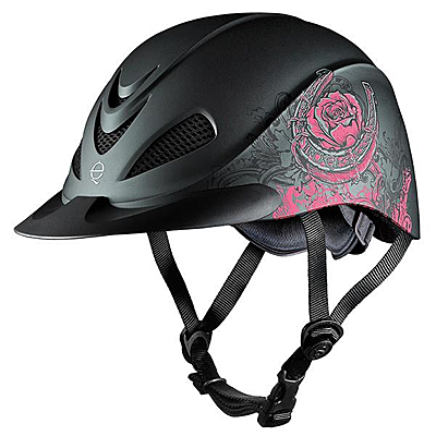 troxel rebel pink rose helmet