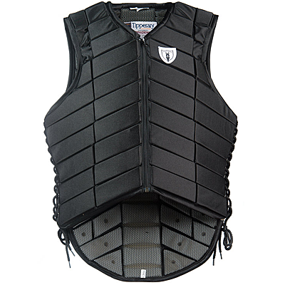 black 1015 eventer safety vest