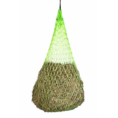 Millstone Slow Feed Hay Net-neon green